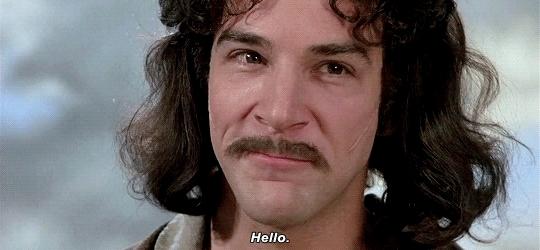 Hello, Mandy Patinkin, The Princess Bride, Hello GIFs