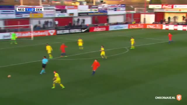 Watch FourFourTweet - 🇳🇱👏🏻 Justin Kluivert breaking ankles for Holland u19 against Ukraine... GIF on Gfycat. Discover more related GIFs on Gfycat