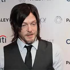 Watch and share Norman Reedus GIFs and Red Carpet GIFs on Gfycat