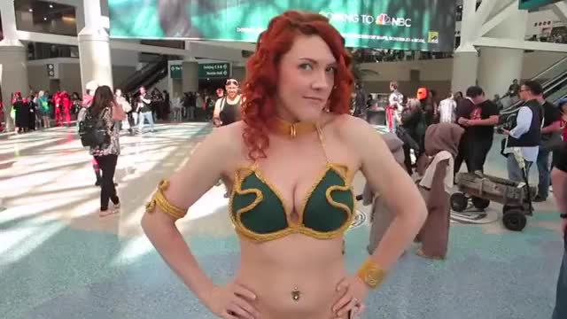 Watch Cosplay Girls at WonderCon 2016 GIF by @gorush on Gfycat. Discover more related GIFs on Gfycat