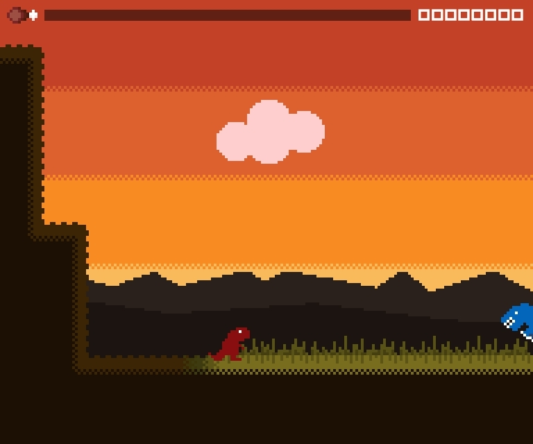 gamedevscreens, My botched first-attempt walk cycle turned into a dinosaur humping its own nest (reddit) GIFs