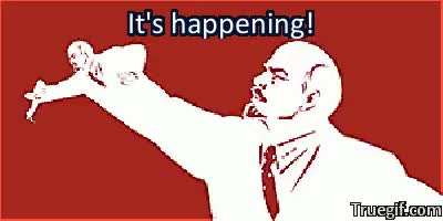 MRW Greek Communist Party approaches 10% in polls : FULLCOMMUNISM GIFs