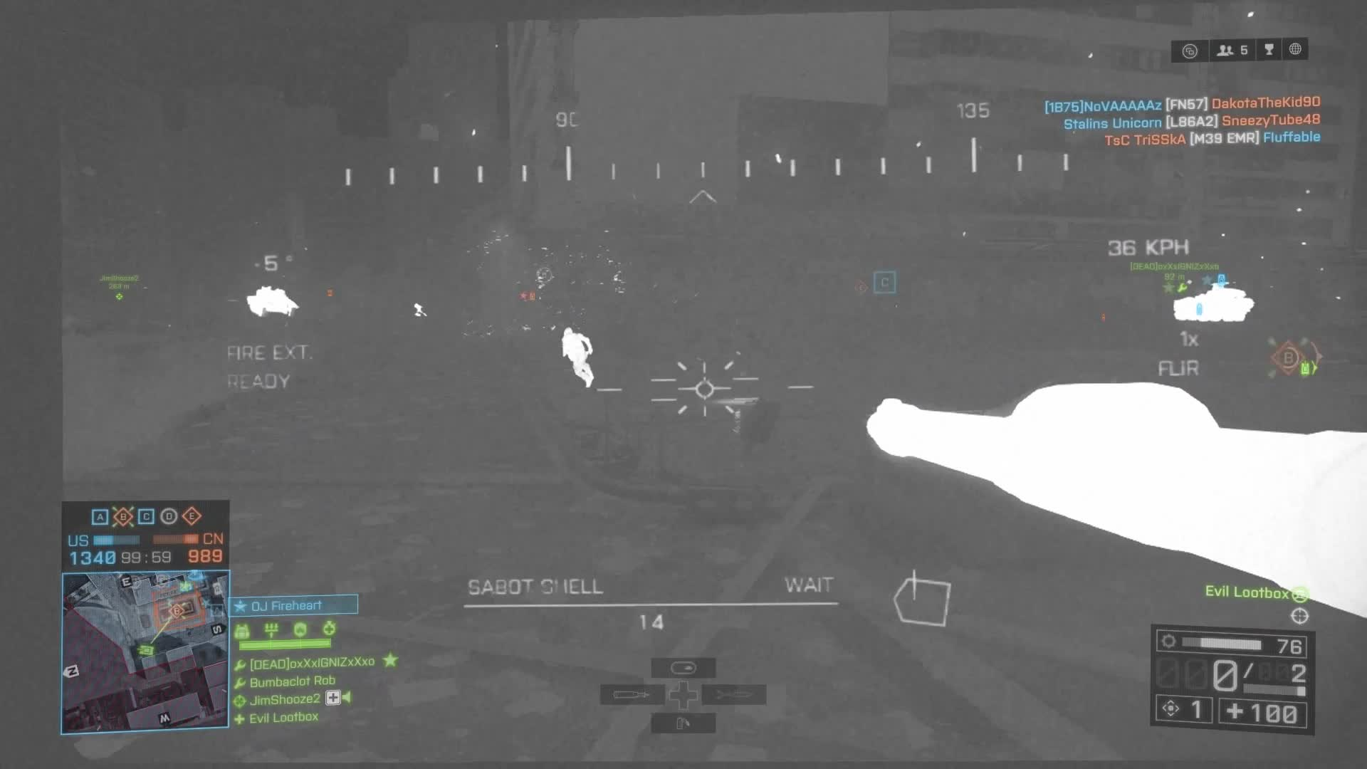 Battlefield 4, gamephysics, xbox one, [Battlefield 4] Extreme Lighting Effects GIFs