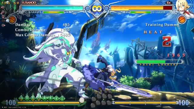 Watch and share BBCF: Susanoo: The Double Godpress + Taunt GIFs by snuffychris605 on Gfycat