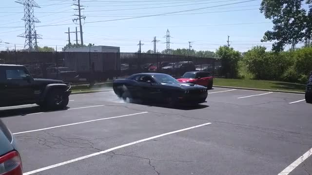 Watch and share Hellcat Burnout GIFs on Gfycat