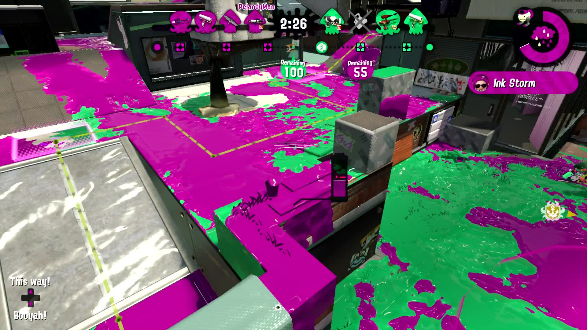 Splatoon 2, Can't outrun the carbon GIFs