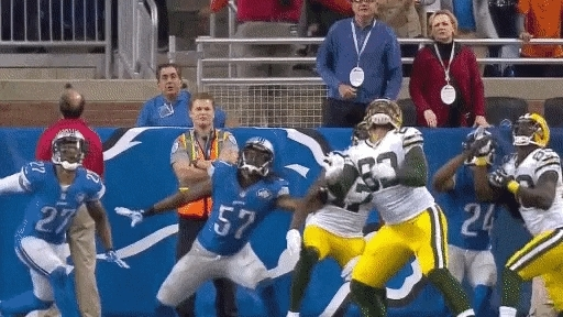detroitlions, greenbaypackers, I made a new Hail Mary Upvote Gif (reddit) GIFs
