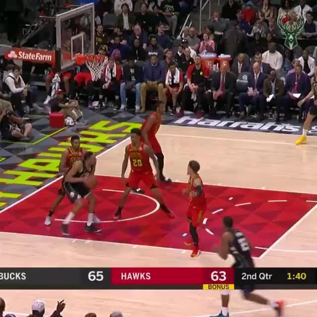 Watch and share Atlanta Hawks GIFs and Basketball GIFs on Gfycat