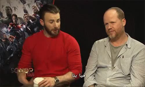 Watch and share Chris Evans GIFs and Joss Whedon GIFs on Gfycat