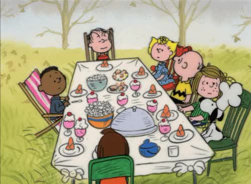 Watch and share Thanksgiving Snoopy GIFs on Gfycat