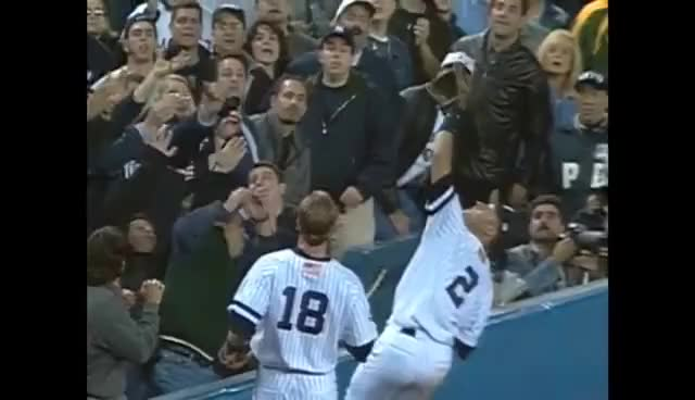 Watch Derek Jeter Catch GIF GIF on Gfycat. Discover more derek jeter, derek jeter catch gif, derek jeter gif, mlb, ny, yankees GIFs on Gfycat