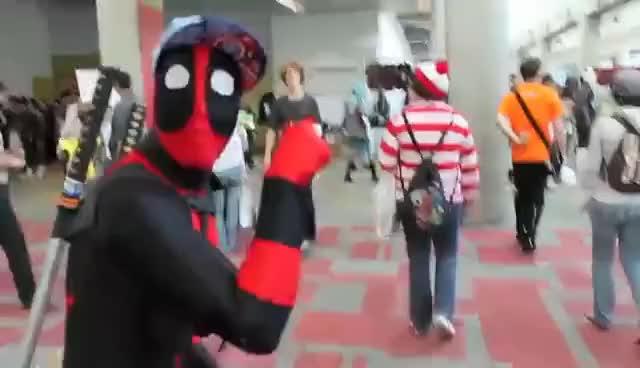 Watch and share Where's Waldo GIFs and Fanime 2012 GIFs on Gfycat