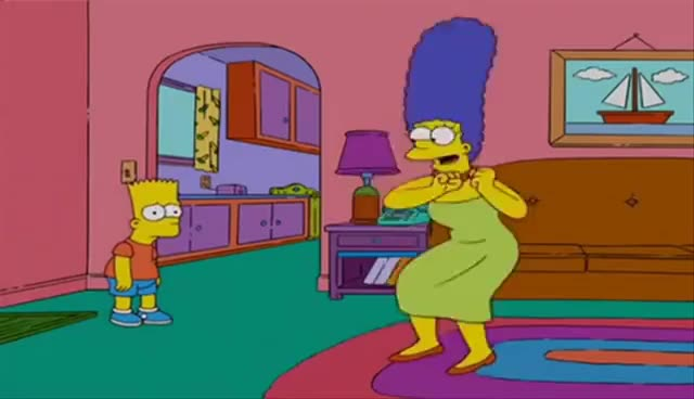 Watch Marge Krumping! ♫ [Original HD] GIF on Gfycat. Discover more related GIFs on Gfycat