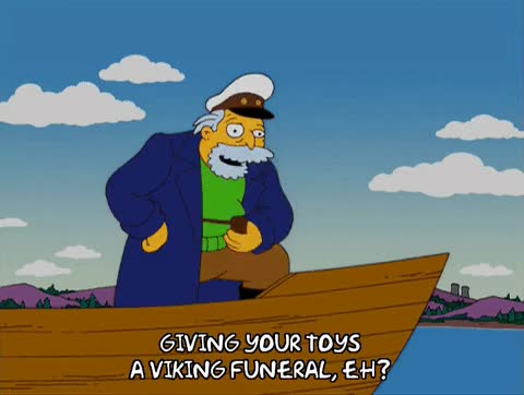 Watch and share Viking Funeral GIFs on Gfycat