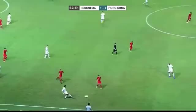 Watch indonesia 1-1  hongkong full match GIF on Gfycat. Discover more related GIFs on Gfycat