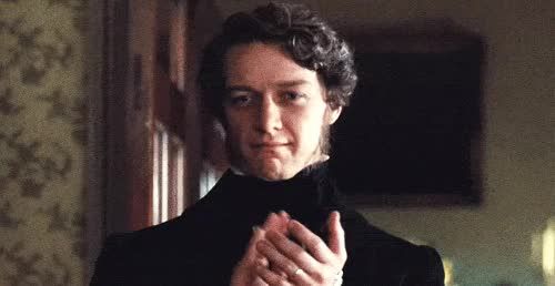 Watch and share James Mcavoy GIFs and Applause GIFs on Gfycat