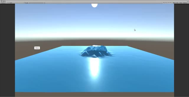 Watch and share Low Poly Water - Unity GIFs on Gfycat