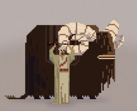 Watch and share Movie Scenes Recreated As Pixelated GIFs GIFs on Gfycat