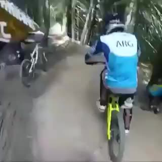 Watch this mountain bike GIF on Gfycat. Discover more dashcam, dashcams don't lie, mountain bike, mountain biking GIFs on Gfycat