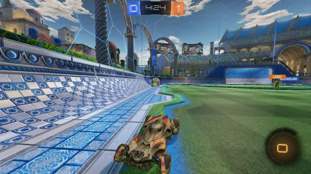 Watch and share Rocket League 2019.03.01 - 12.46.30.27  200 IQ Jump GIFs by Zarakilya on Gfycat