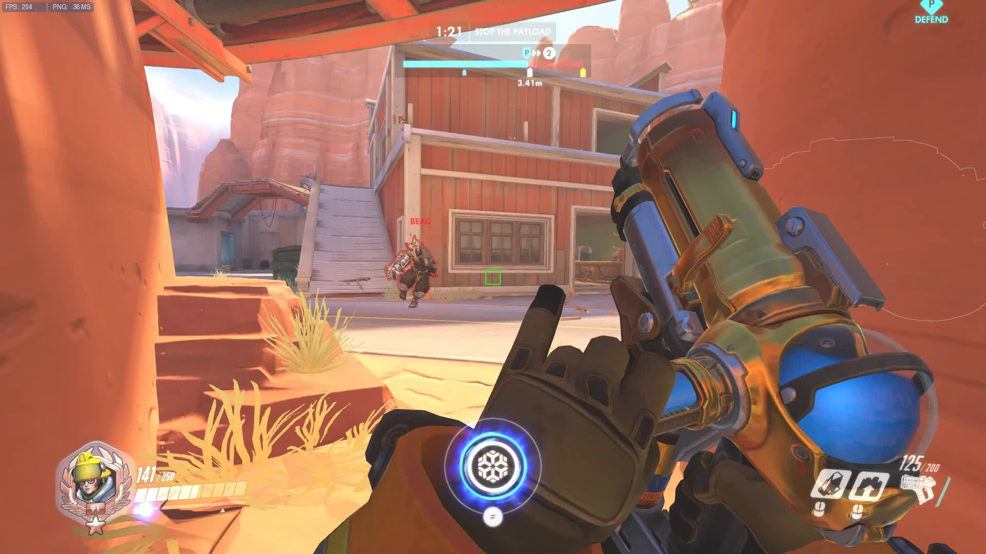 ▷ Sombra Dynamic Square Crosshair (Boxhair) - Overwatch GIF by
