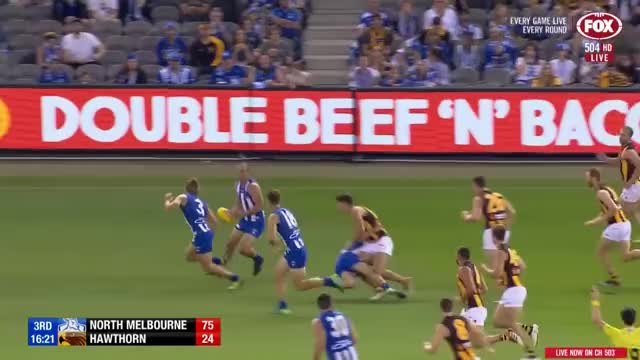 Watch and share North Melbourne GIFs and Hawthorn 2018 GIFs on Gfycat