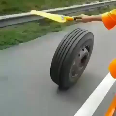 Watch and share Tire Chase GIFs by Boojibs on Gfycat