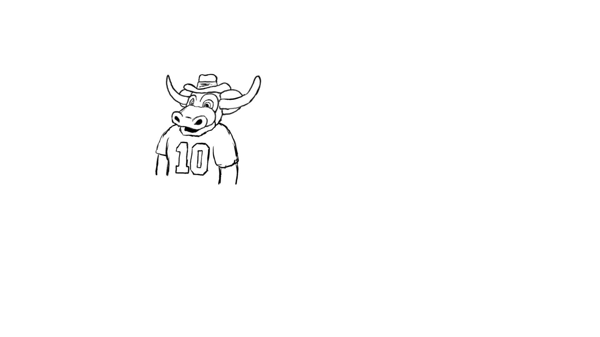 Bevo Sneezing Animation.gif GIFs