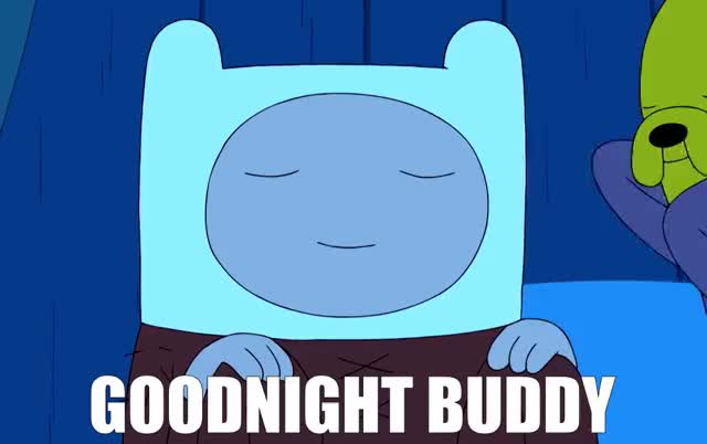 Watch and share Goodnight Buddy GIFs by Super GIF on Gfycat