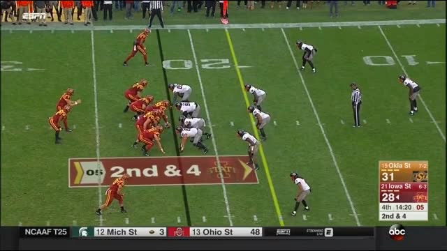 Watch and share College Football GIFs and Allen Lazard GIFs on Gfycat