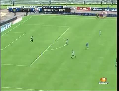 Watch and share Autogol De Dario Veron Pumas Vs Cruz Azul Apertura 2009 Fecha  2 GIFs on Gfycat