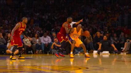 Watch and share Kobe Bryant — Los Angeles Lakers GIFs by Off-Hand on Gfycat