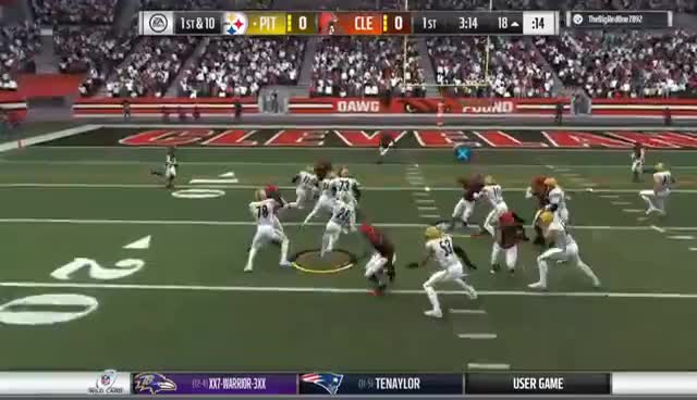 Browns Steelers GIFs