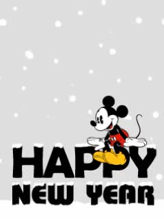 Watch and share Disney Happy New Year Gif. GIFs on Gfycat