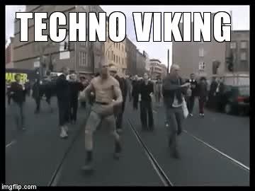 Watch and share Techno Viking GIFs on Gfycat
