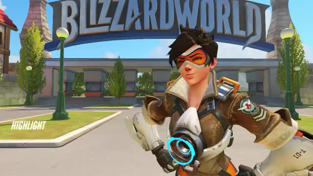 Watch tracer GIF by Gale (@soliwyn) on Gfycat. Discover more highlight, overwatch, tracer GIFs on Gfycat