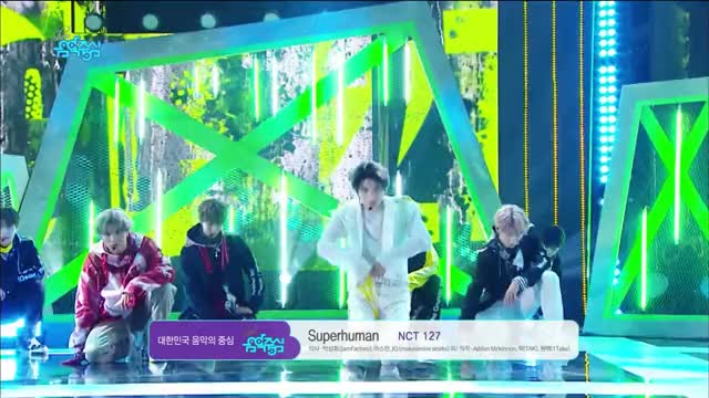 Watch and share [Comeback Stage] NCT 127 - Superhuman , 엔시티 127 - Superhuman Show Music Core 20190525 GIFs by Miranda on Gfycat