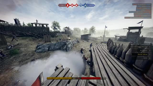 Watch and share Mordhau GIFs and Spear GIFs by st3althtv on Gfycat