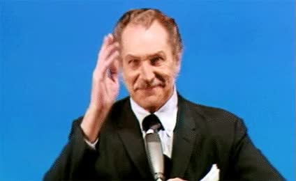 Watch and share Vincent Price GIFs on Gfycat