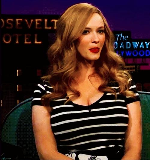 Boobs, ChristinaHendricks, TheLook, ChristinaHendricks Late Late show GIFs