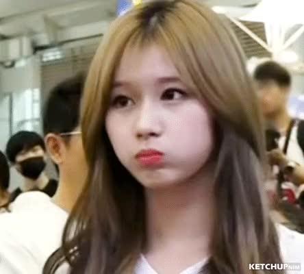 Watch and share Sana Cheeks GIFs by ketchupnim 케첩님 on Gfycat