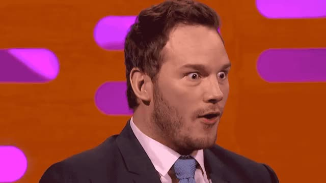 Watch this chris pratt GIF by Reactions (@ioanna) on Gfycat. Discover more believe, can't, chris, eyes, god, graham, it, naked, norton, oh, omg, pratt, show, surprise, surprised, the, unbelievable, what, wow, wtf GIFs on Gfycat