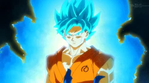 Watch and share Goku God GIFs on Gfycat