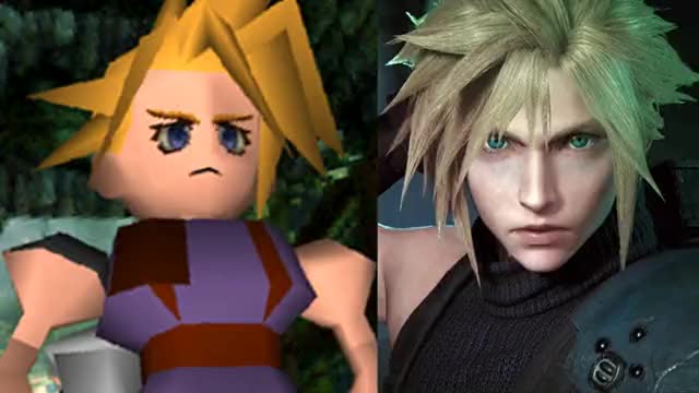 Watch and share Img-final-fantasy-vii-remake-vs-original-504 GIFs on Gfycat