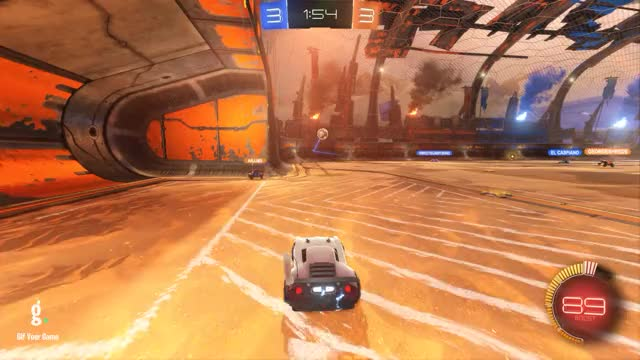 Watch Goal 7: Albion Hog GIF by Gif Your Game (@gifyourgame) on Gfycat. Discover more Albion Hog, Gif Your Game, GifYourGame, Rocket League, RocketLeague GIFs on Gfycat