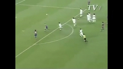 barcaww, footbaww, soccer, 10 years ago today, Lionel Messi scored his 1st goal for FC Barcelona (reddit) GIFs