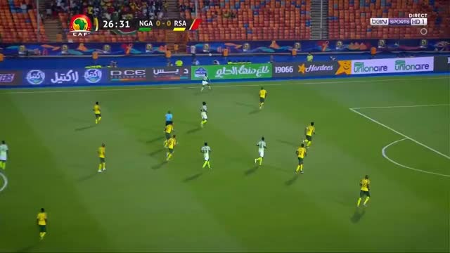 Watch Samuel Chukwueze goal Nigeria vs South Africa CAN 2019 GIF by Stephen Sa (@stephensa25) on Gfycat. Discover more related GIFs on Gfycat