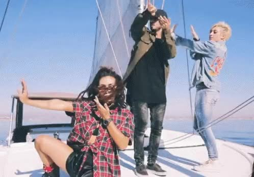 Watch this boat GIF by Krewella (@krewella) on Gfycat. Discover more Jahan Yousaf, Krew life, Krewella, Yasmine Yousaf, boat, edm, jahan yousaf, krew life, krewella, music, yacht, yasmine yousaf GIFs on Gfycat