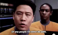Watch and share Star Trek Voyager GIFs and Harry Kim GIFs on Gfycat