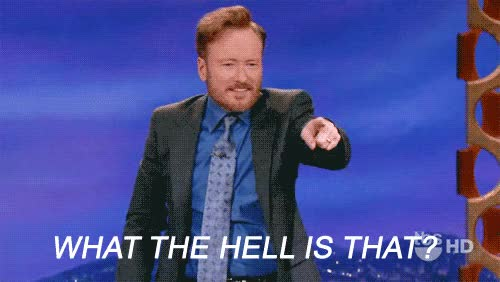 Watch and share Conan O'brien GIFs and Wait What GIFs by Reactions on Gfycat